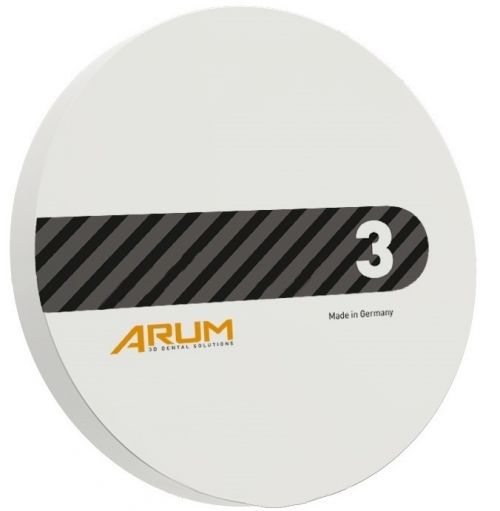 Disc Zirconiu translucent ArumSupreme alb 98 Ø x 10 mm