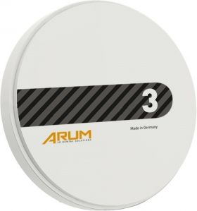 Disc Zirconiu translucent  ArumSupreme A3 98 Ø x 25 mm